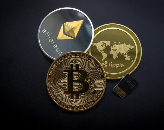 Kripto Para XRP Bitcoin Ethereum